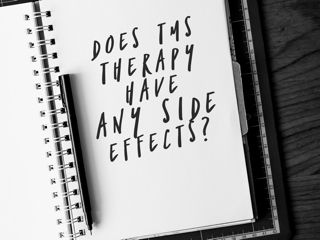 Side effects of TMS therapy