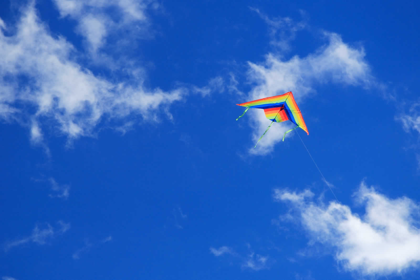 sky clouds kite