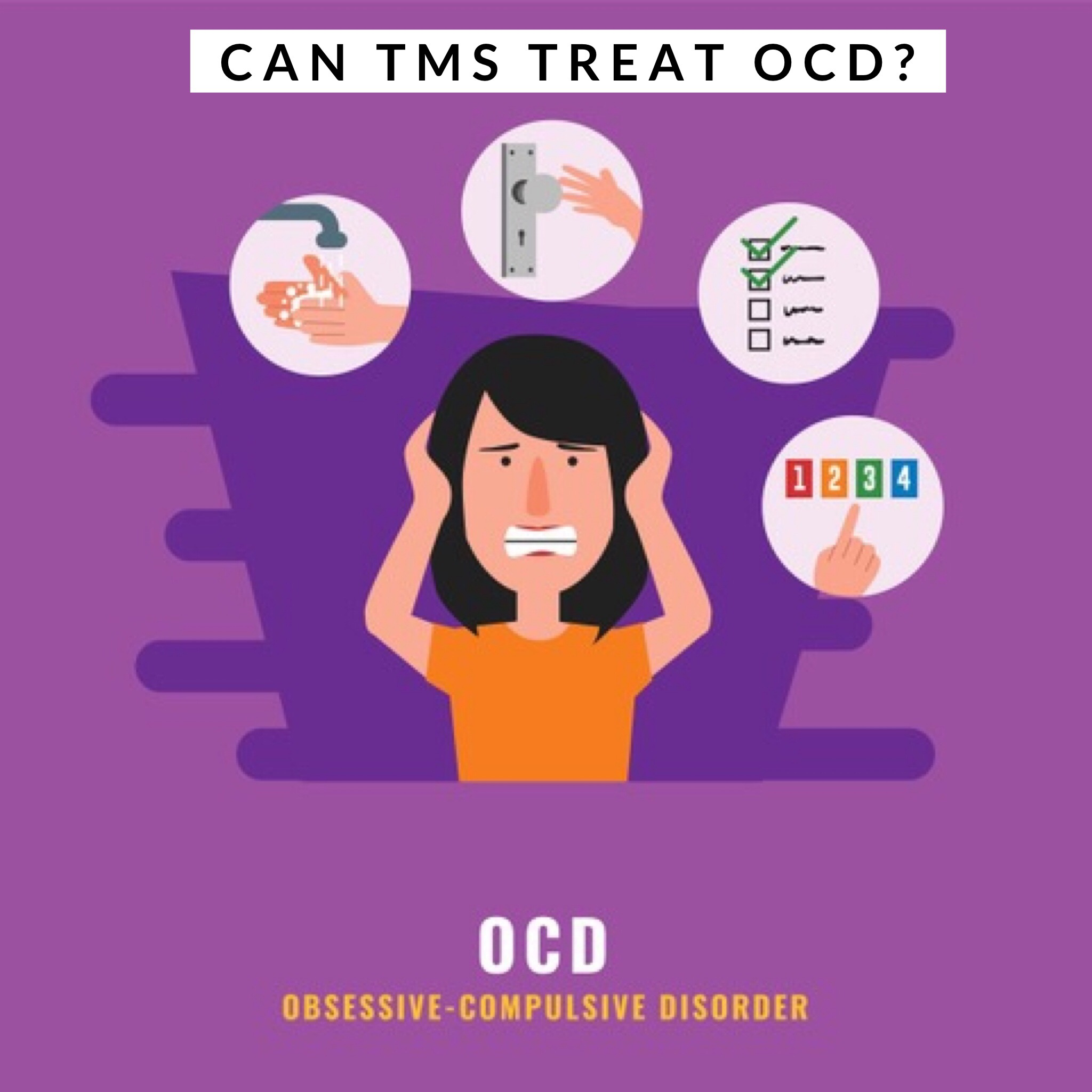 Can Transcranial Magnetic Stimulation treat OCD?