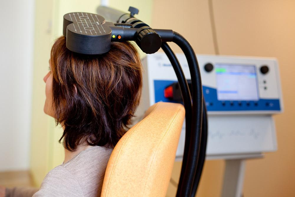 Theta-burst stimulation and TMS